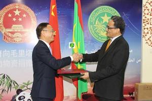La Chine assiste la Mauritanie pour le sommet de l'UA