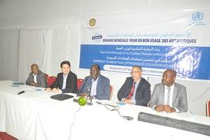 Mauritanie : appel en faveur d'un bon usage des antibiotiques