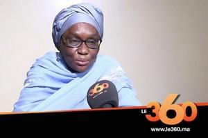 Kadiata Malick Diallo, députée de l'Union des Forces de Progrès (UFP) :