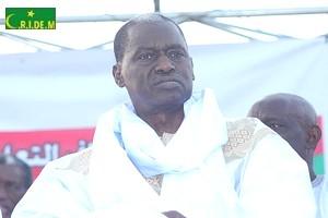 Le candidat Kane Hamidou Baba préside un meeting électoral à N'Tekane