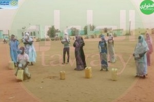 Kiffa : manifestation contre la soif devant les locaux de la wilaya