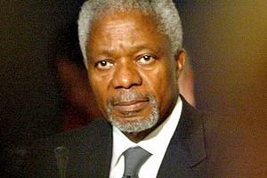 Kofi Annan: «Tirer les leçons de ses échecs»