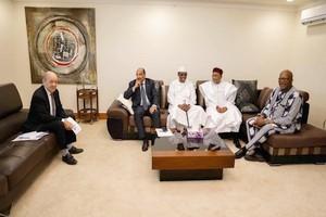 Mauritanie – G5 Sahel - Déplacement de Jean-Yves Le Drian (5-6.12.18)
