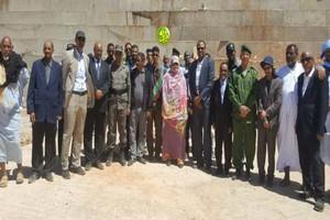 La ministre de développement rural visite l'oasis pilote Tidriz et le barrage de Ouad Seguelil dans la localité Aïn Ehil Taya