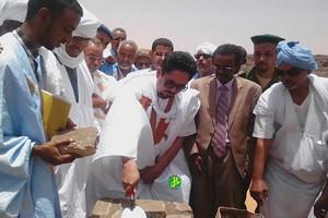 Le ministre de la culture supervise la cérémonie de pose de la première pierre pour la réhabilitation de l'ancien quartier de Rachid