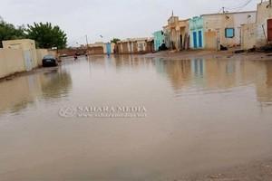 Mauritanie : des localités du Trarza encerclées par les eaux