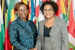 Louise Mushikiwabo officiellement investie à la tête de la Francophonie