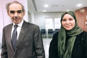 Une journaliste rencontre Ould Taya et publie sa première photo, depuis son éviction