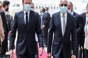 Dîner à l'Elysée entre Ghazouani et Macron :