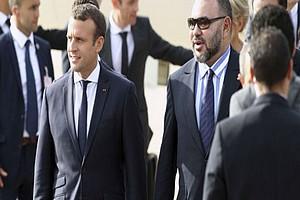 Maroc : أ Rabat, Emmanuel Macron et Mohammed VI cأ©lأ¨brent leur amitiأ© nouvelle