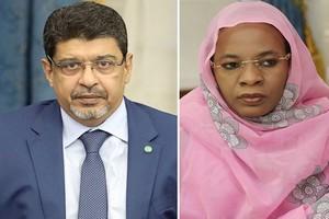 Conférence de presse conjointe des ministres de la Culture et du Commerce