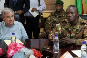 Mali: la force conjointe du G5-Sahel change de commandement