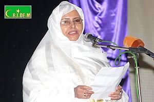 Dernière-minute : La sénatrice Malouma Mint Meidah à la police