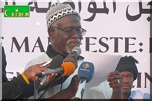 Marche pour les droits des Harratines : Le discours intégral de Boubakar Ould Messaoud, président du Comité permanent du Manifeste