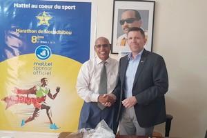 L'Ambassadeur des USA au bureau du marathon International de Nouadhibou ! [PhotoReportage]