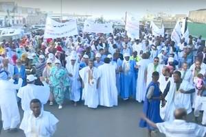 Mauritanie : marche à Nouakchott pour les droits des descendants d'esclaves [Vidéo & PhotoReportage]