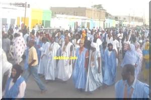 Mauritanie: esclaves et anciens esclaves marchent pour la « justice et l'égalité»