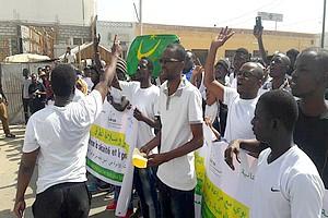 Affaire آ« Marche de la jeunesse mauritanienne آ» : 2 أ 5 ans de prison requis