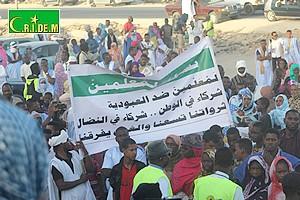 Rassemblement à Nouakchott avec Al-mitaagh pour réclamer les droits des Harratines [Vidéo & PhotoReportage]
