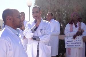 Mauritanie: sit-in des médecins devant le ministère de la santé