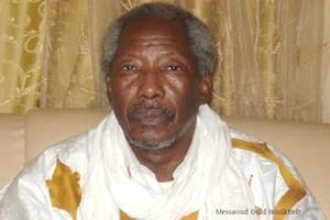 Massaoud Ould Boulkheir évoque un «chantage » du président Aziz
