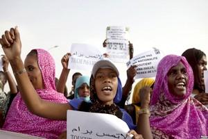 Transf�rement de militants anti-esclavagistes emprisonn�s vers le nord de la Mauritanie