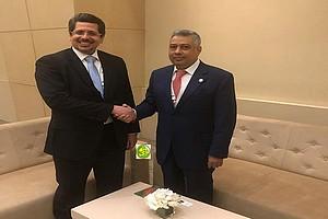Le ministre de l'économie reçoit le président de l'établissement islamique pour le développement du secteur privé