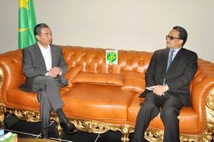 Le ministre chinois des affaires أ©trangأ¨res en visite en Mauritanie
