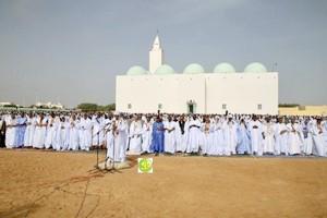 Mauritanie:  Le Président de la République effectue la prière d'l'Aïd El Adha à la Mosquée IbnaAbass
