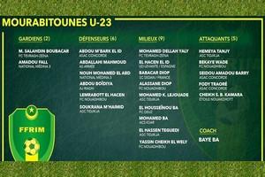 Mourabitounes U-23 : Baye Ba convoque un groupe de 22 joueurs pour un stage à Tunis