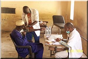 Les sortants de l'école de santé de Nouakchott subissent l'épreuve du tirage au sort