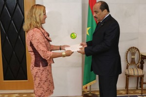 Mauritanie : 7 nouveaux ambassadeurs présentent leurs lettres de créances