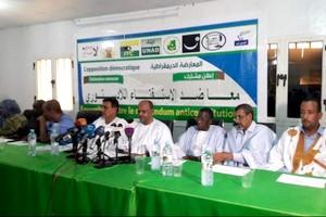 L'opposition décidée à exporter son rejet des amendements constitutionnels