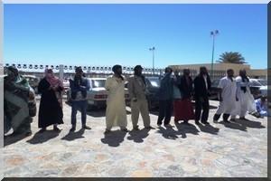 Les partisans de l'IRA protestent dans la capitale économique Nouadhibou