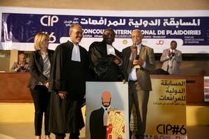 Me Pépé Antoine LAMA (Guinée Conakry), vainqueur du 6eme concours international de plaidoirie sur les droits de l'Homme [PhotoReportagr]