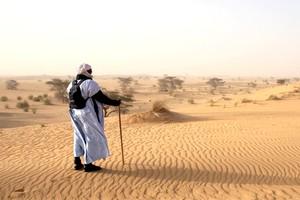 Tourisme en Mauritanie, marcher dans le désert sur la piste des étoiles