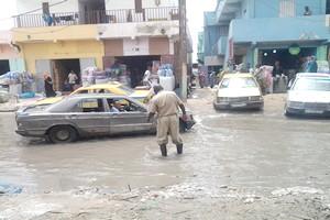 Les dégâts qu'occasionne la pluie à Nouakchott [PhotoReportage]