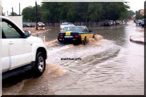 Première pluie sur Nouakchott : La voirie montre ses limites !
