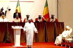 Mali: le président Ibrahim Boubacar Keïta investi pour son deuxième mandat
