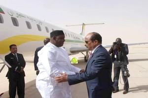 Le président de la République de Gambie entame une visite officielle en Mauritanie