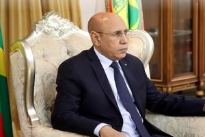 Le président Ghazouani préside une réunion de la commission ministérielle chargée de faire face au covid-19