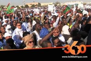 Vidéo. Mauritanie: le président prend la tête d'une marche contre
