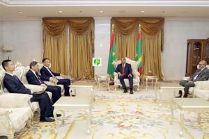 Le Président de la République reçoit le ministre adjoint chinois des Affaires étrangères