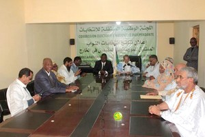 Déclaration portant proclamation des résultats de l'élection des députés représentant les Mauritaniens établis à l'étranger