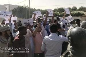 Mauritanie : sit-in de protestation devant l'ambassade de France à Nouakchott
