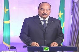 Le Prأ©sident de la Rأ©publique fأ©licite les mauritaniens et appelle au renforcement de l'unitأ© nationale et أ la consolidation des acquis