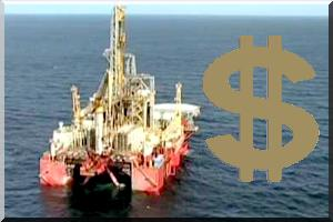 10,5 millions de dollars us de recettes pétrolières en Mauritanie pendant le mois de janvier 2014