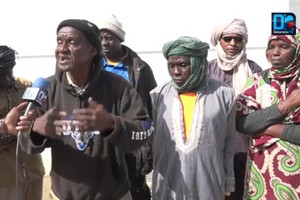 Vidéo. Taxant le Sénégal de pays pauvre, des réfugiés mauritaniens demandent leur réinstallation dans un autre pays.