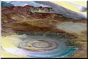 La Structure de Richat: plongez dans l'œil du Sahara - [Video & PhotoReportage]]