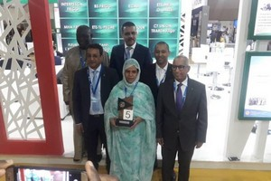 La Mauritanie distinguée par un prix au Salon international Halieutis d'Agadir [PhotoReportage]